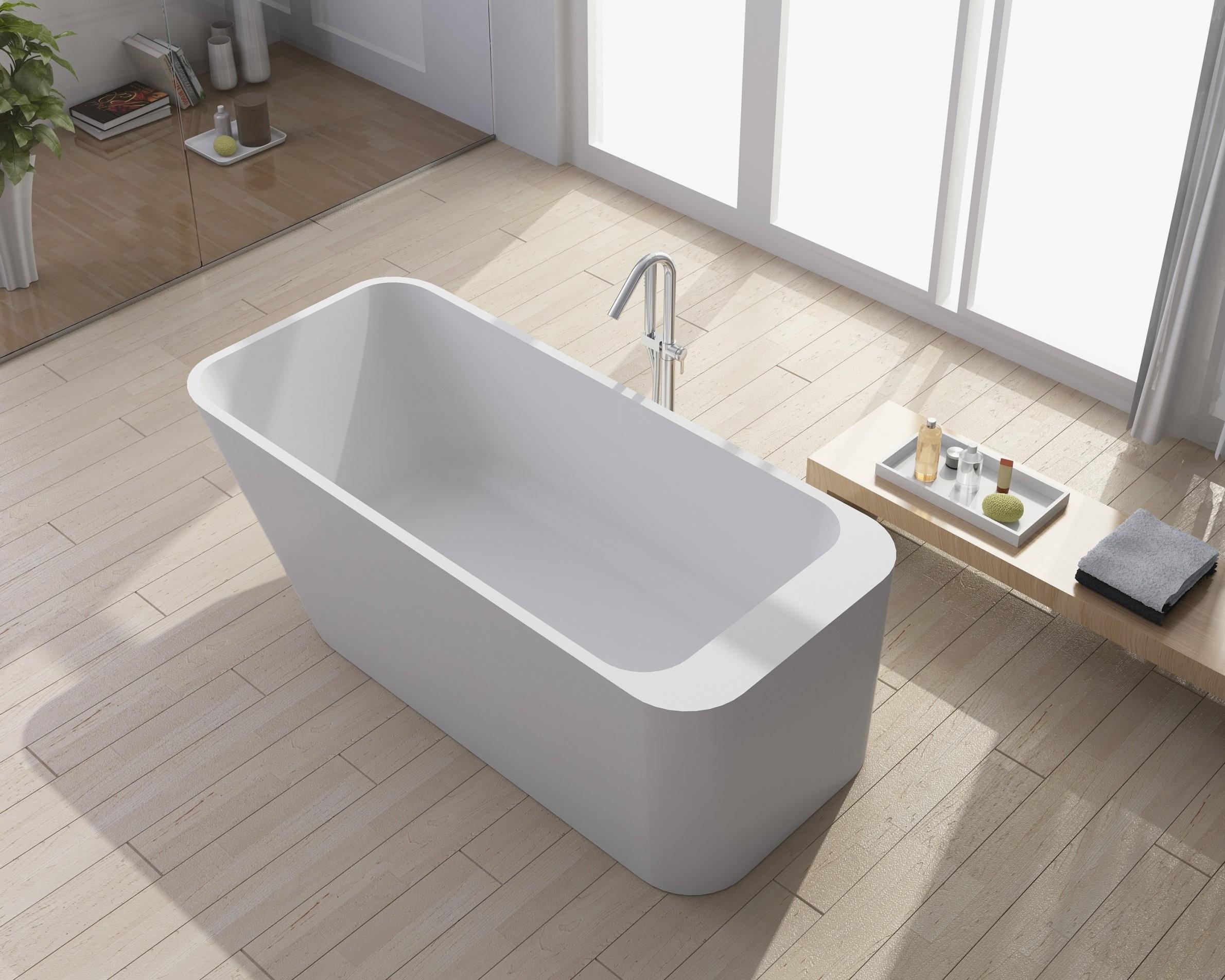 Freistehende Badewanne Eckig  Haus Ideen von Badewanne Eckig Freistehend Bild