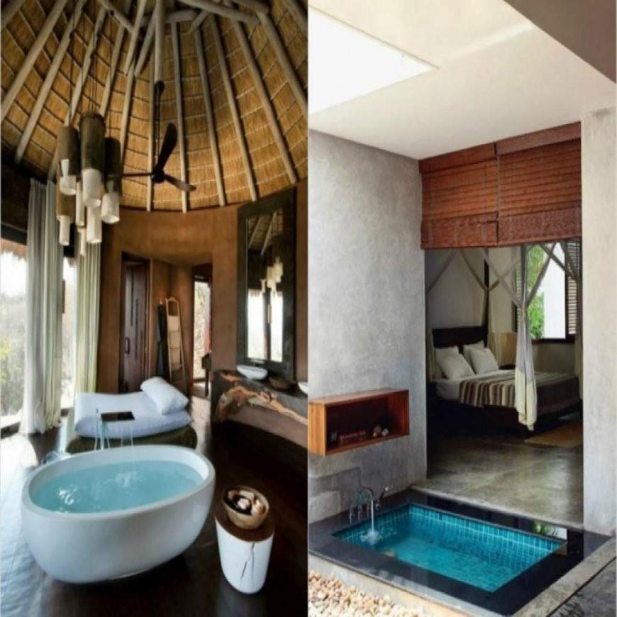 Freistehende Badewanne Im Schlafzimmer – Keine Klare Trennung Von von Freistehende Badewanne Im Schlafzimmer Bild