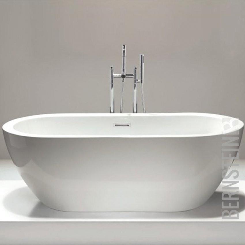 Freistehende Badewanne Jazz Acryl Weiß 173X78 Inkl Abüberlauf Bs von Acryl Badewanne Freistehend Bild