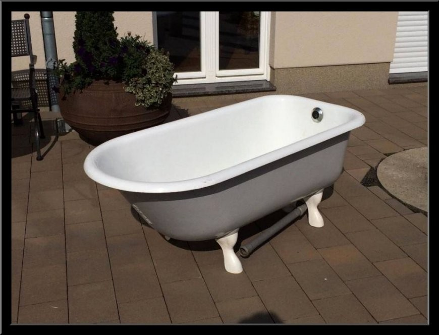 Freistehende Badewanne Mit Füßen Gebraucht  Haus Ideen von Badewanne Freistehend Gebraucht Photo