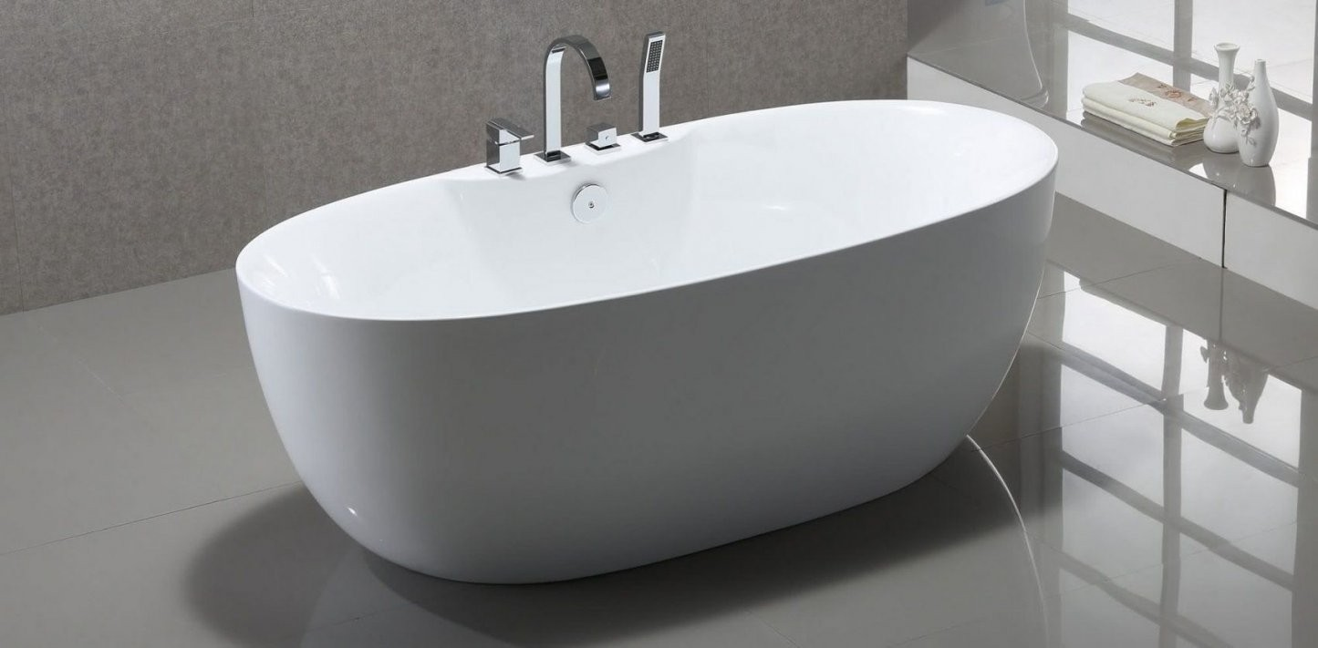 Freistehende Badewanne Mit Integrierter Armatur  Haus Ideen von Freistehende Badewanne Mit Integrierter Armatur Photo