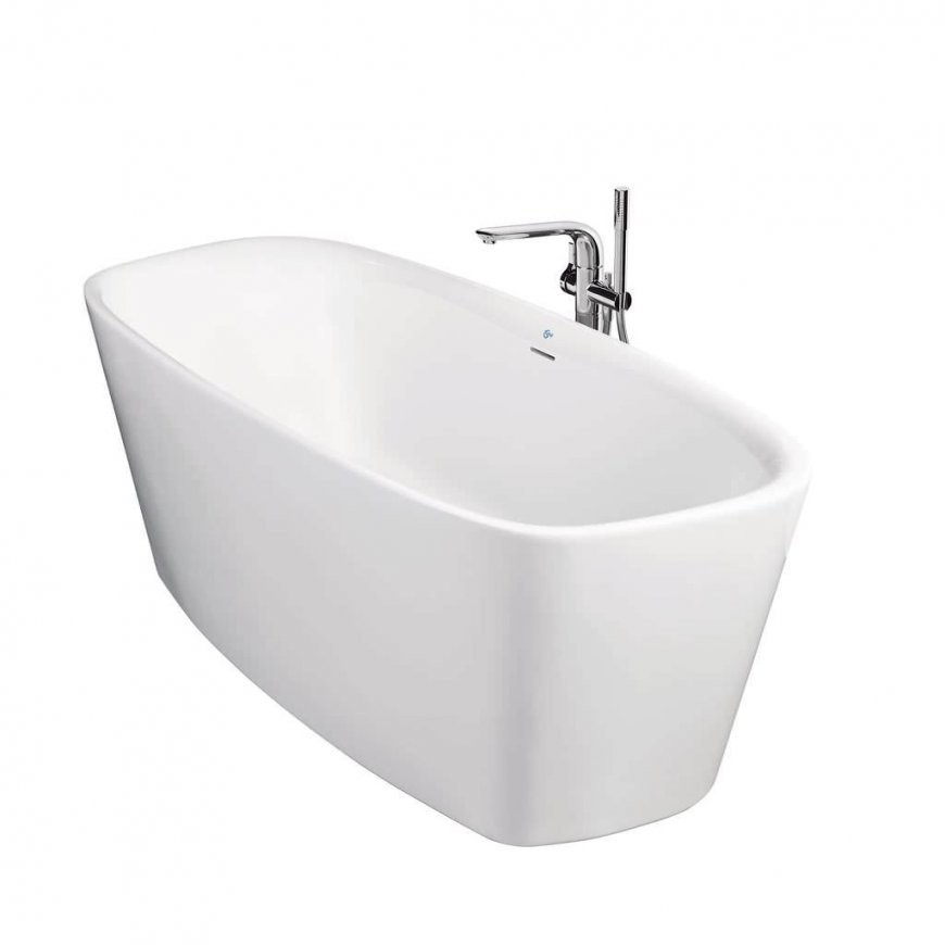 Freistehende Badewanne  Oval  Keramik  Deadick Powell  Ideal von Freistehende Badewanne Keramik Bild