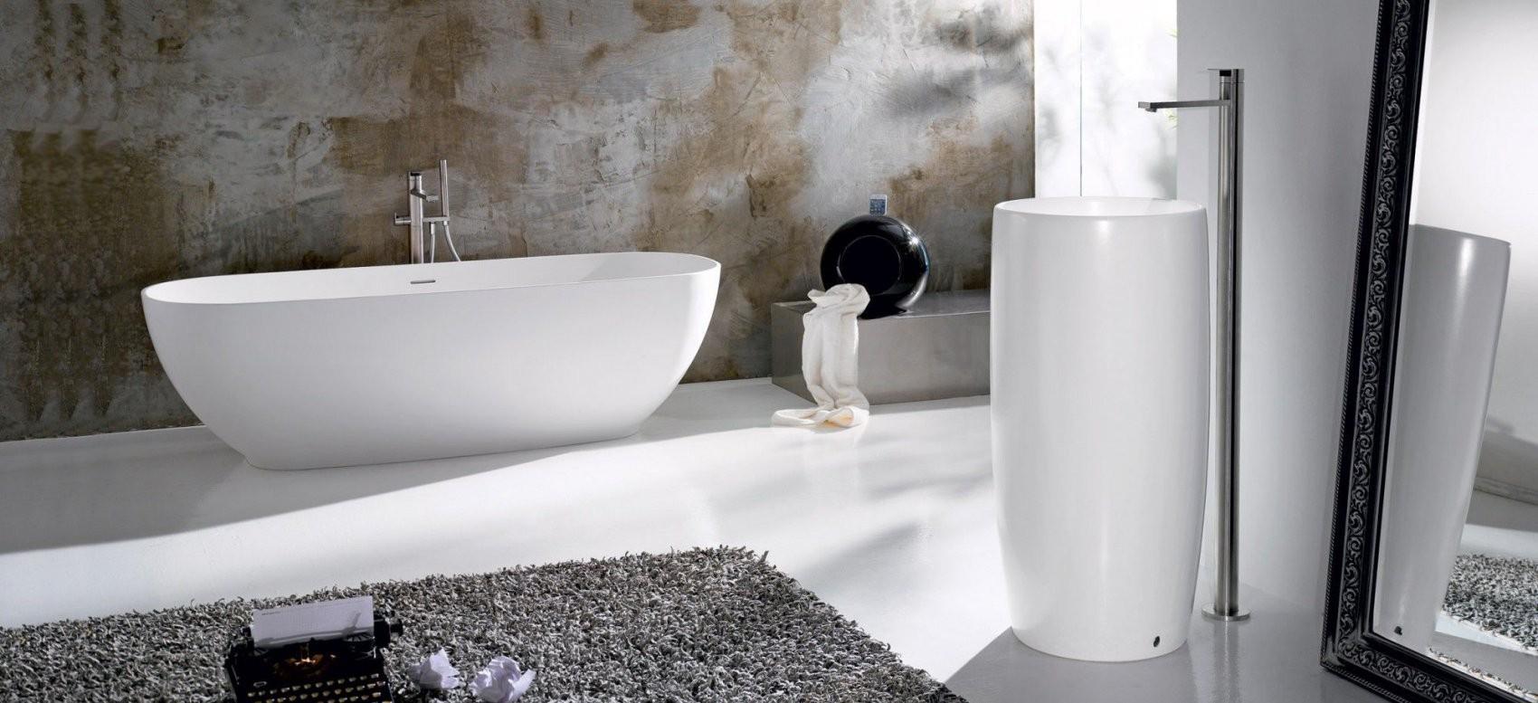 Freistehende Badewanne  Oval  Keramik  Pillar  A E T Italia von Freistehende Badewanne Keramik Photo