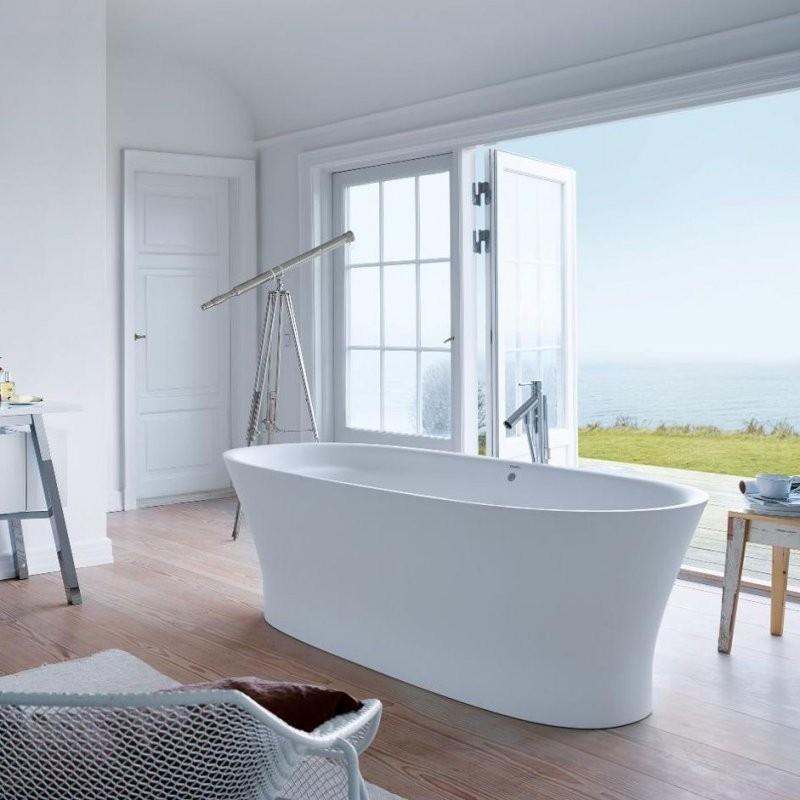 Freistehende Badewanne  Oval  Von Philippe Starck  7003Xx Series von Duravit Cape Cod Badewanne Freistehend Bild