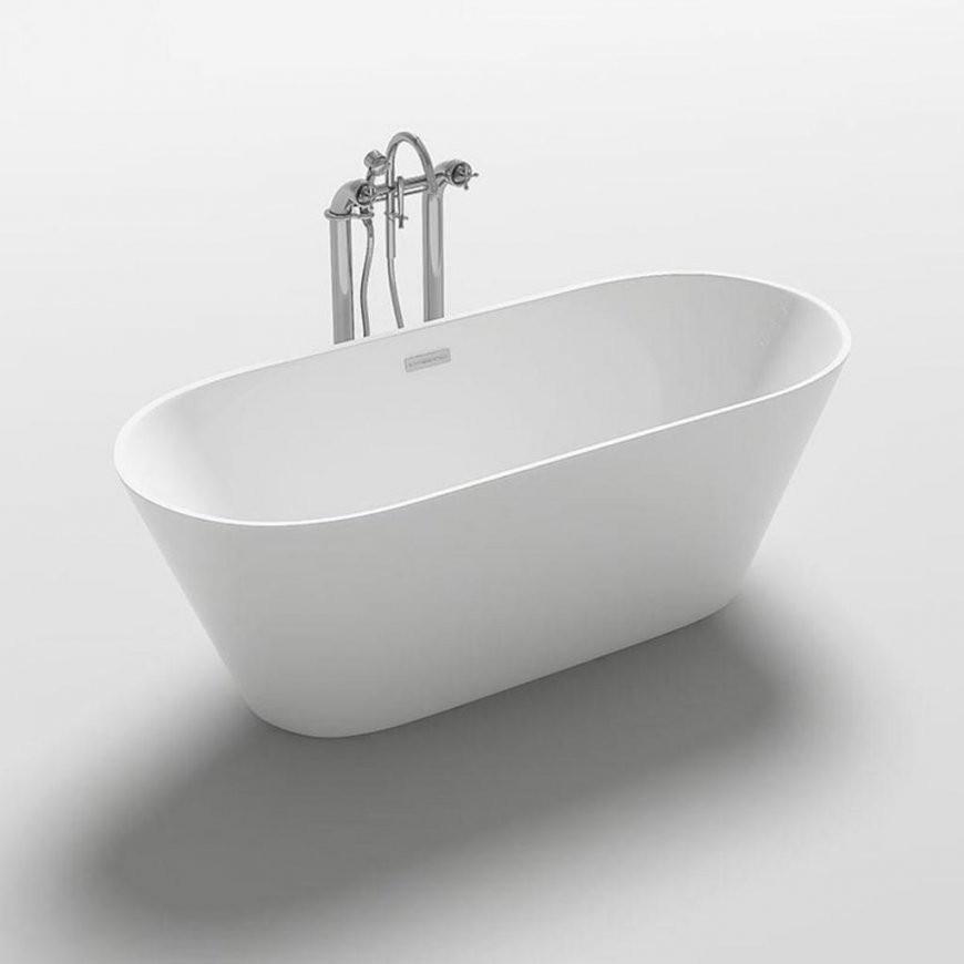 Freistehende Badewanne Rondo Badewanne  Real von Freistehende Badewanne Mit Füßen Bild