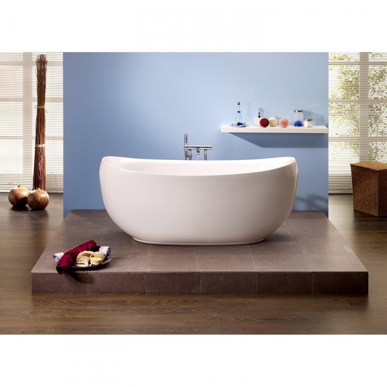 Freistehende Badewanne Ventura 1805 Cm X 835 Cm Weiß Kaufen Bei Obi von Freistehende Badewanne Bilder Bild
