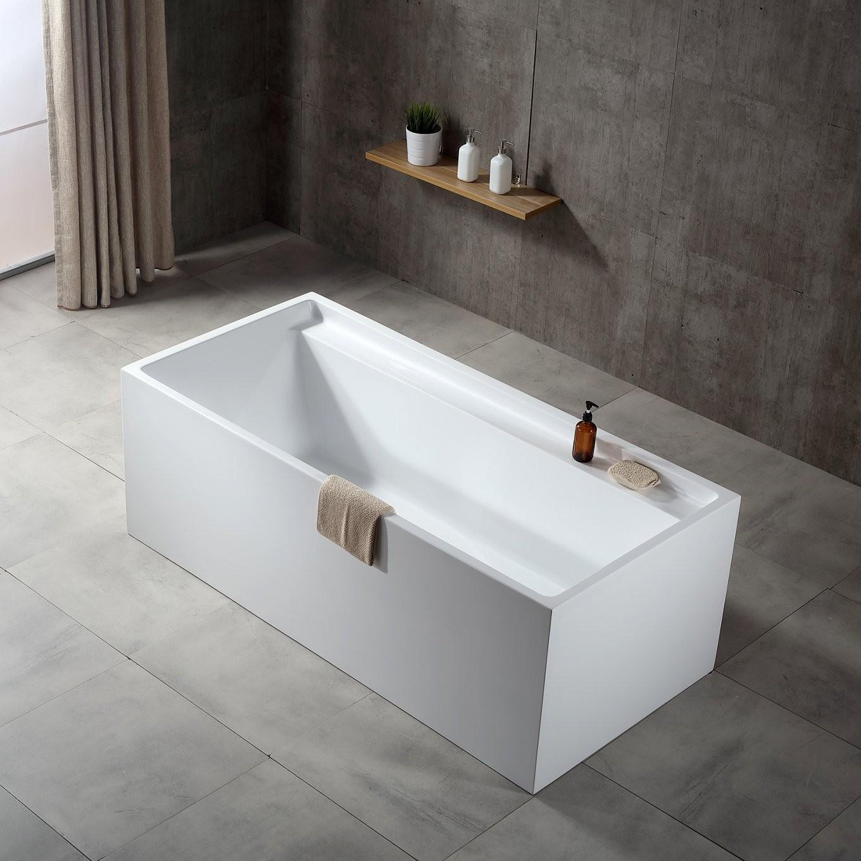 Freistehende Badewanne Verona Acryl Weiß  170 X 80 X 60 Cm von Freistehende Badewanne Eckig Bild