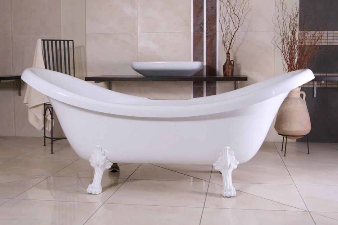 Freistehende Badewannen Im Barock & Jugendstil Design  Luxus Pur von Acryl Badewanne Freistehend Bild