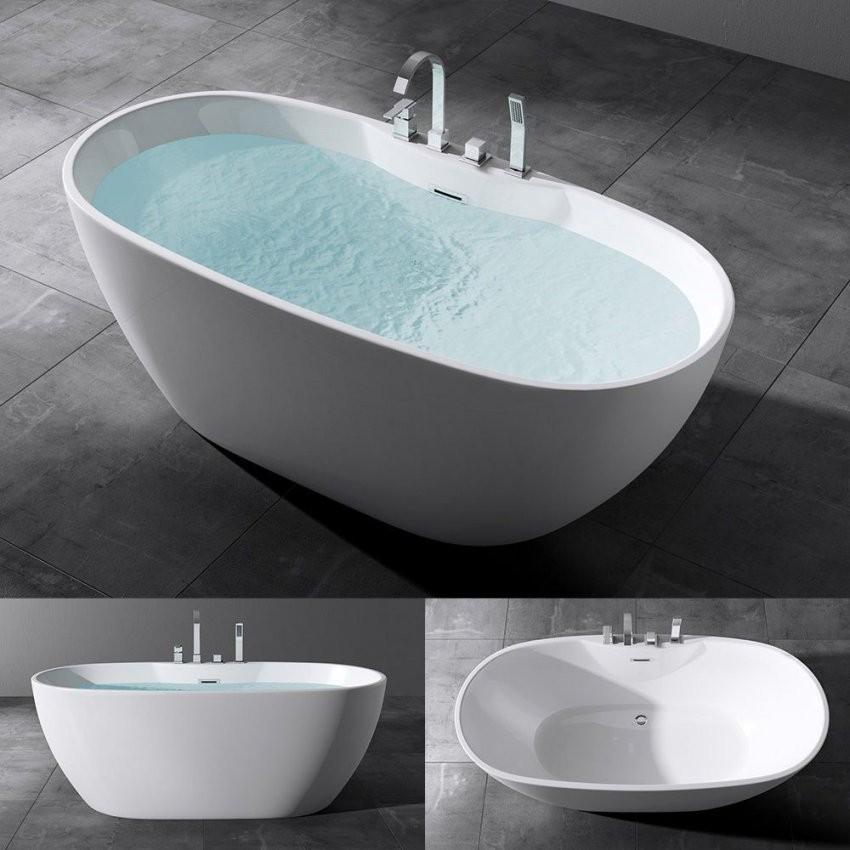 Freistehende Luxus Badewanne Vicenza605 Ohne Armatur von Freistehende Badewanne Mit Integrierter Armatur Photo