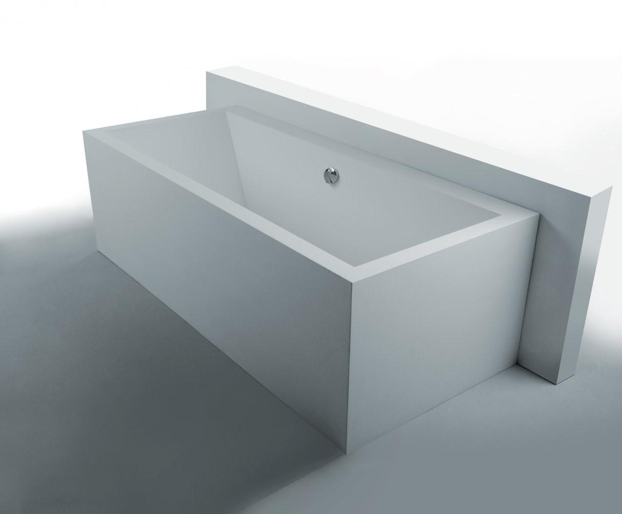 Freistehende Mineralguss Badewanne 0101022 In Der Kategorie von Badewanne Eckig Freistehend Bild