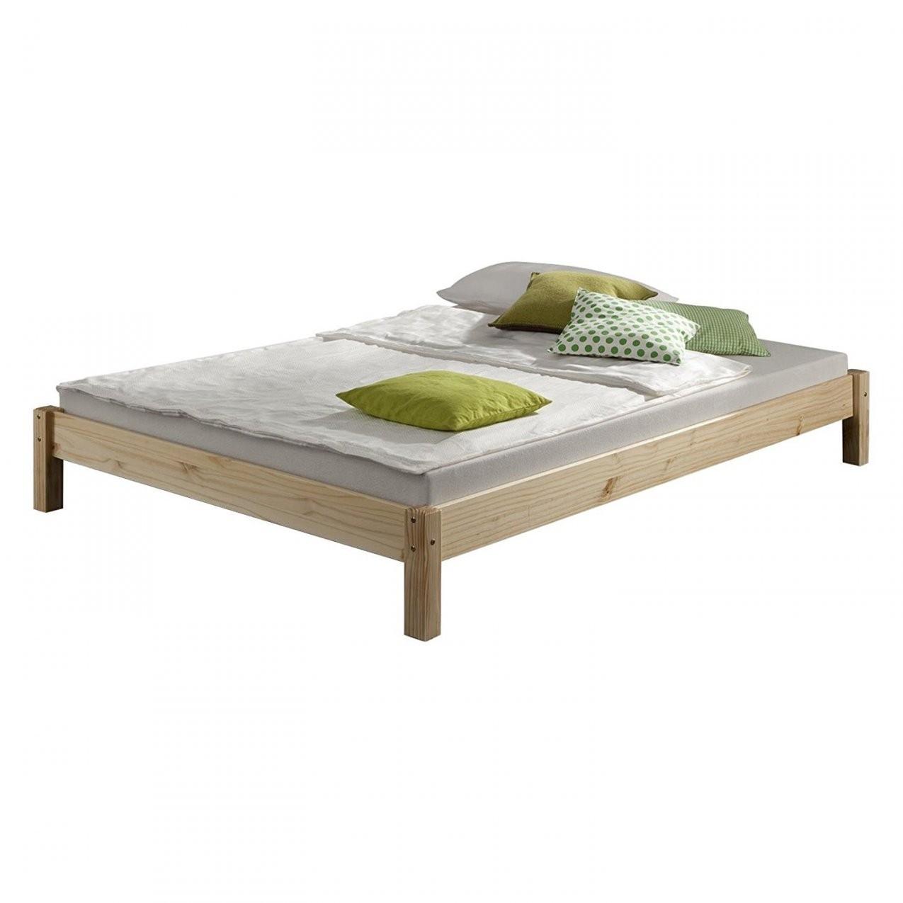 Futonbett 140X200 Holz Bettgestelle Metallbetten Im Rollert Weis von Bett Weiß 140X200 Holz Bild