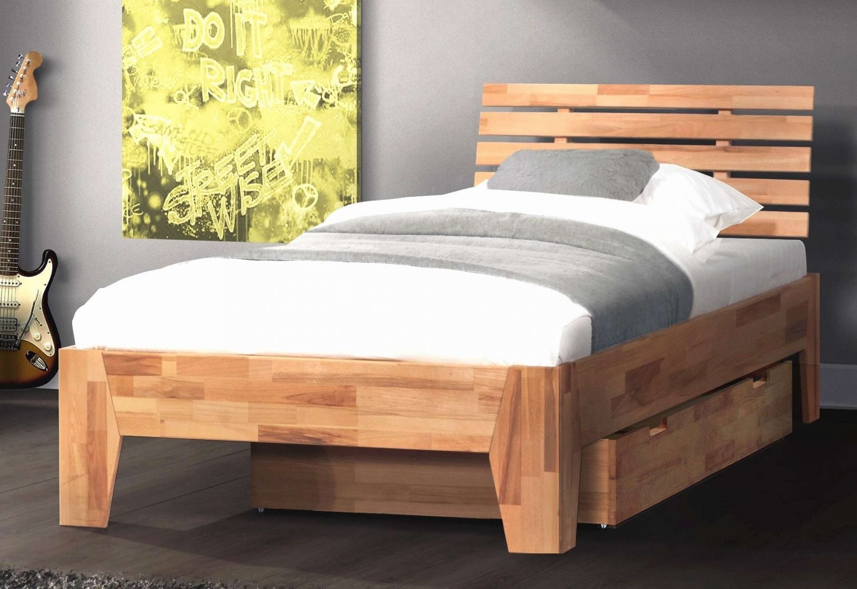 Futonbett 160×200 Mit Matratze Und Lattenrost Einzigartig Bett 140 von Bettgestell 140X200 Mit Lattenrost Bild