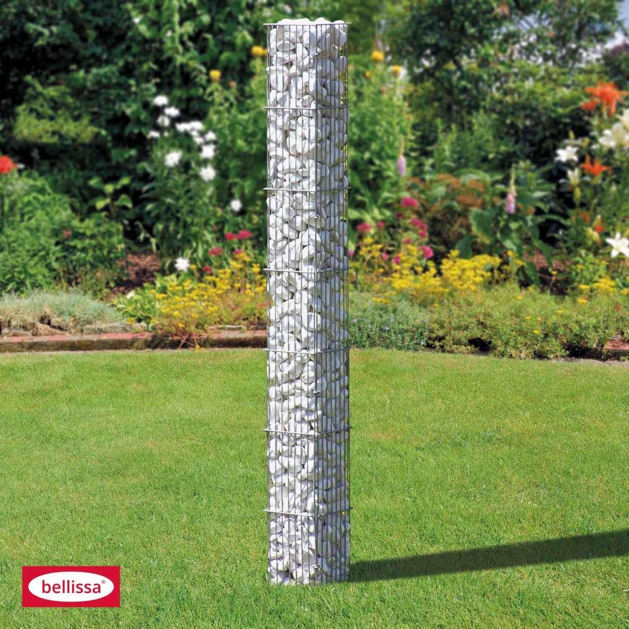 Gabionensteinsäule Eckig 175 Cm X 20 Cm X 20 Cm Kaufen Bei Obi von Steinsäule Garten Photo