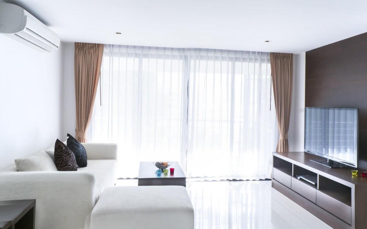 Gardinen Im Wohnzimmer von Halbtransparente Gardinen Vorhänge Photo