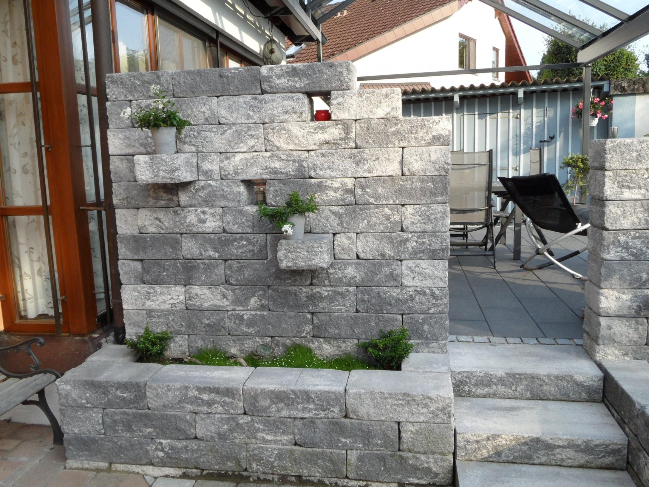 Garten Mauern Steine  Haus Ideen von Garten Mauern Steine Photo
