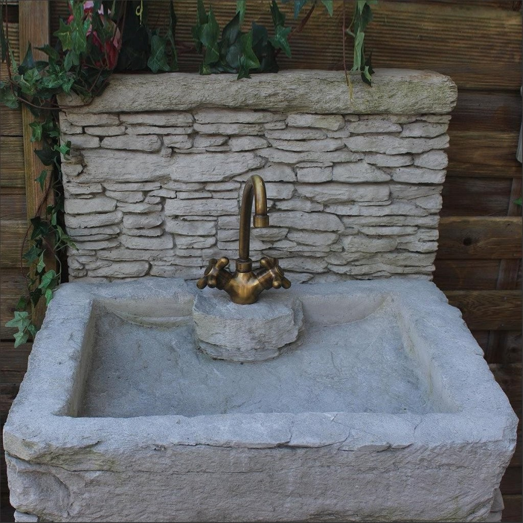 Garten Reizvoll Garten Waschbecken Ideen Reizend Garten von Garten Waschbecken Stein Bild