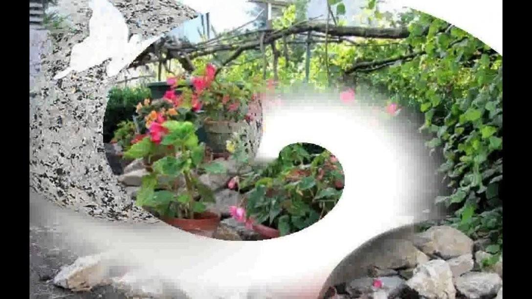 Garten Steine Deko Inspiration Zeilavara Youtube Von Deko Ideen Mit