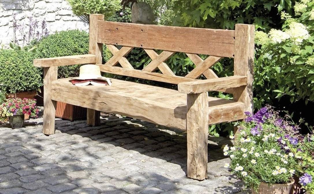 Gartenbank Holz Rustikal Unique Schön Zum In Massiv  Amuda von Holzbank Garten Rustikal Photo