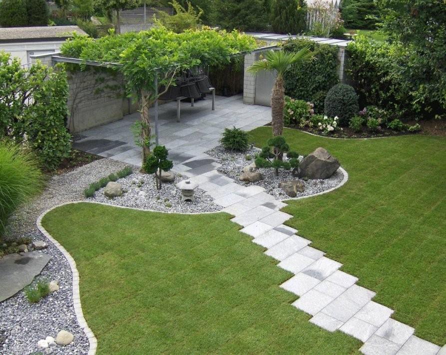 Deko Ideen Mit Steinen Im Garten | Haus Bauen