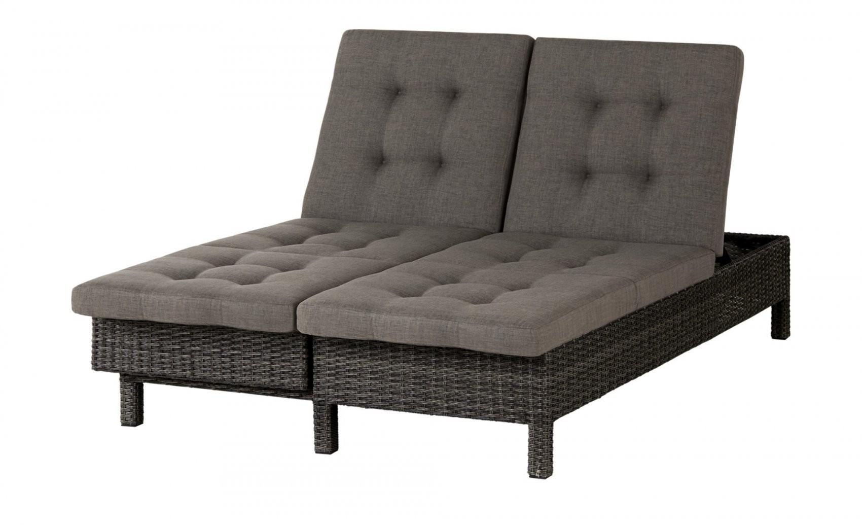 Gartenloungesofa 3Sitzer Padua  Möbel Höffner von Polyrattan Sofa 3 Sitzer Bild