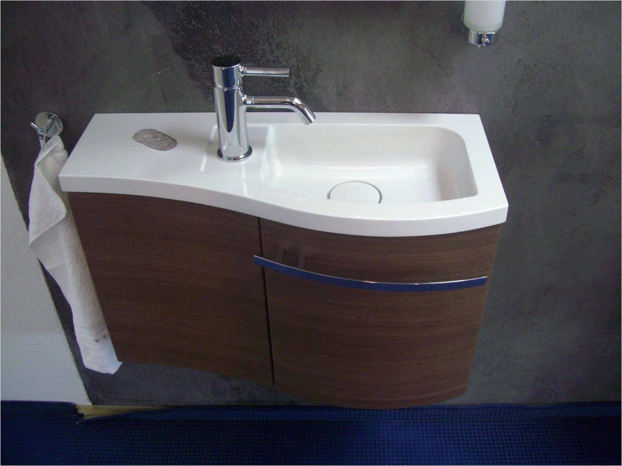 Gäste Wc Waschbecken Mit Unterschrank Weiß Frisch 47 Skizze von Waschbecken Kleines Gaeste Wc Bild