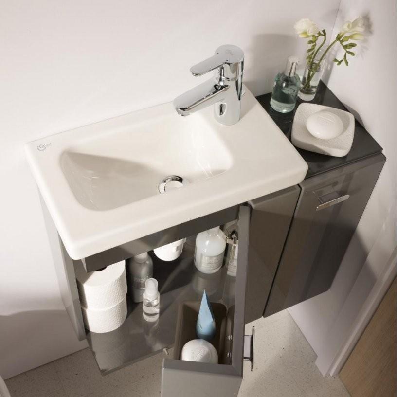 Gästewc  Tolle Ideen Zur Gestaltung Der Gästetoilette  Reuter von Waschbecken Kleines Gaeste Wc Photo