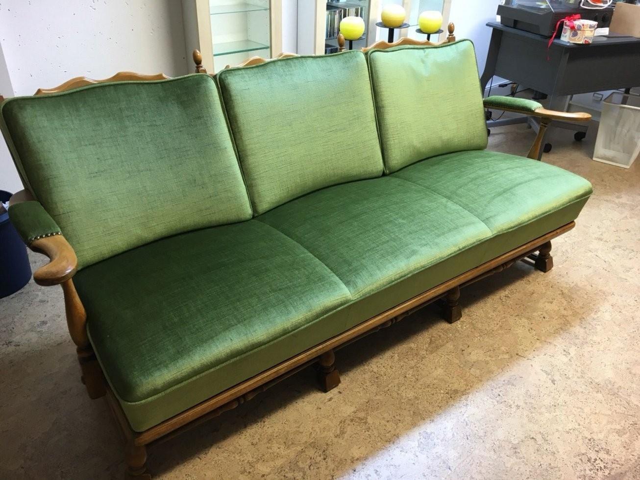 Gebraucht 3 Sitzer Sofa Mit 2 Sessel Antik Vintage In 60599 von 3 Sitzer Sofa Und 2 Sessel Bild