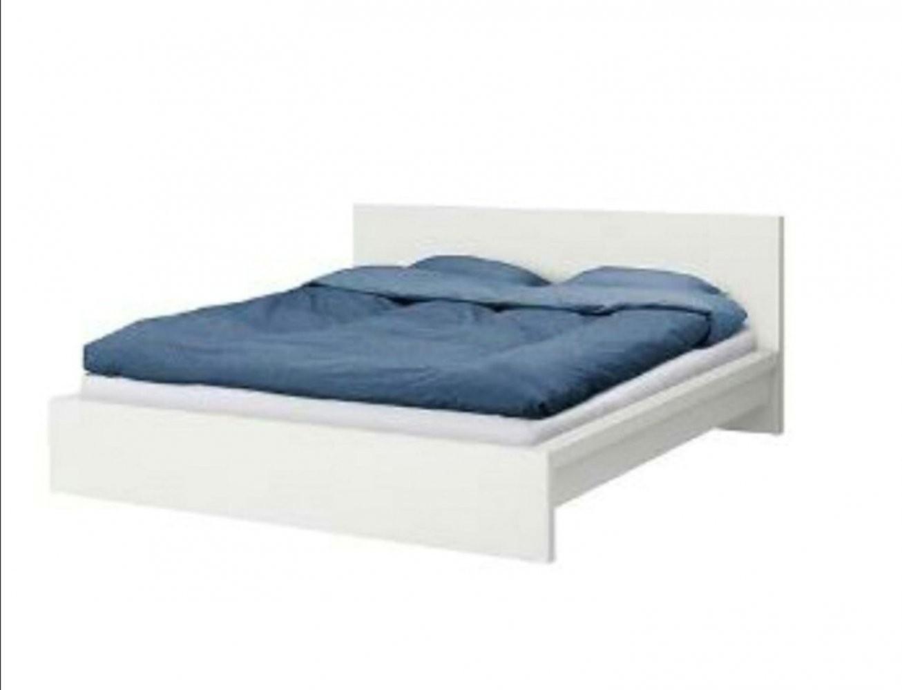 Gebraucht Ikea Malm Bett 140X200 Weiß In 68623 Lampertheim Um von Ikea Bett Malm 140X200 Weiß Bild
