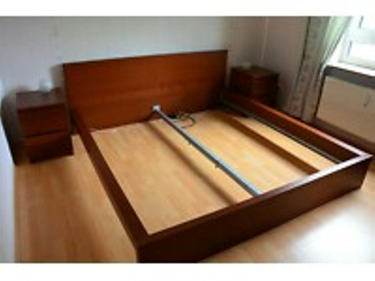 Gebraucht Ikea Malm Bett 180X200 Nussbaum In 38102 Braunschweig Um von Ikea Malm Bett 180X200 Bild