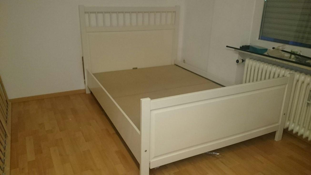 Gebraucht Weißes Ikea Hemnes Bett 140X200 In 64287 Darmstadt Um von Ikea Hemnes Bett 140X200 Photo