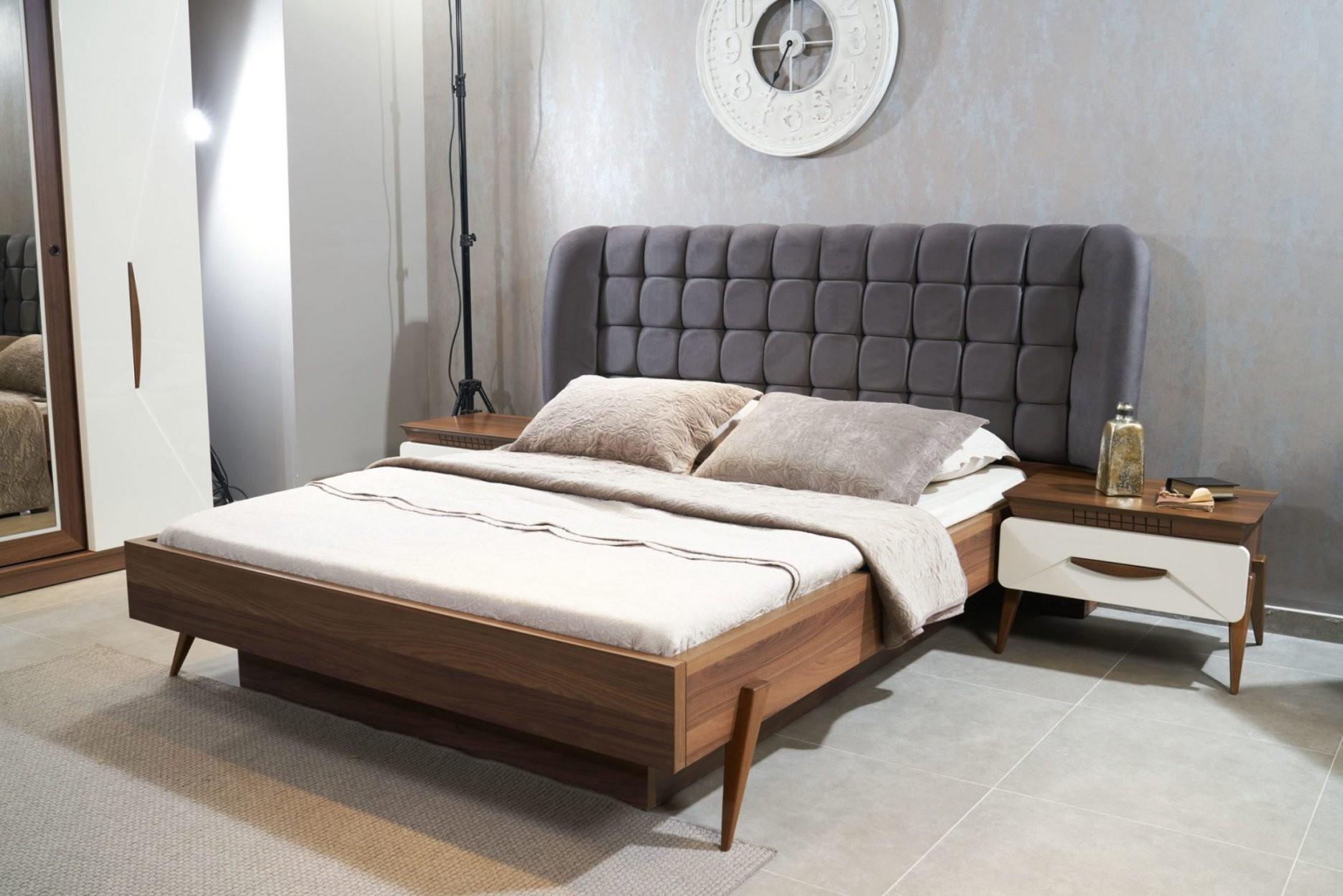 Grande Bett Mit Stauraum Und Kopfteil 180X200 Cm  Möbel Harmonia von Bett Mit Stauraum 180X200 Photo
