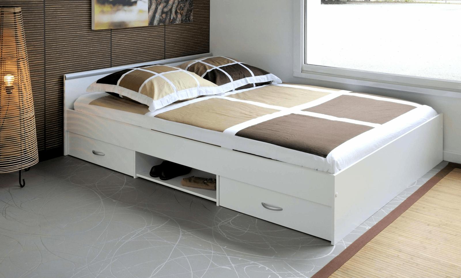 Groß Bett Mit Schubladen 160X200 Betten Stauraum Ziemlich Ikea von Bett Mit Stauraum 160X200 Photo
