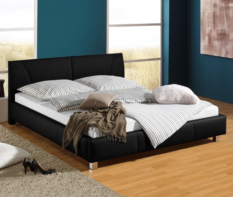 Günstiges Polsterbett Z B In Weiß 140X200 Cm  Sona von Preiswerte Betten Mit Lattenrost Und Matratze Photo