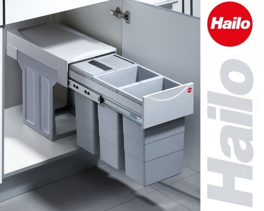 Hailo Abfallsammler Tz Swing 30330 Terzett Abfalleimer Einbau von Mülleimer Küche Hailo Photo