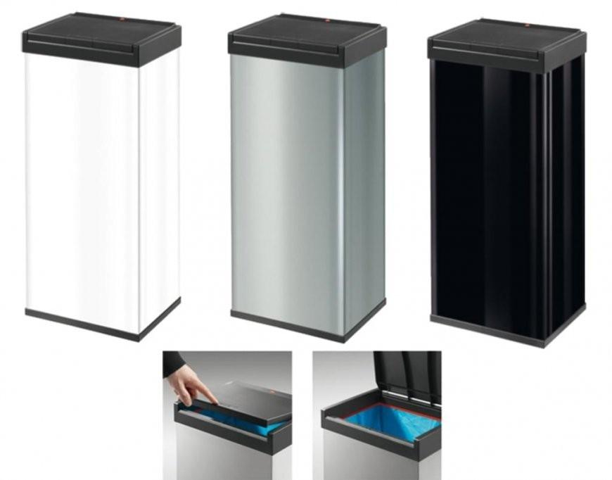 Hailo Big Box Touch 60 Großraum Abfallbox One  Real von Abfalleimer Küche 60 Liter Bild