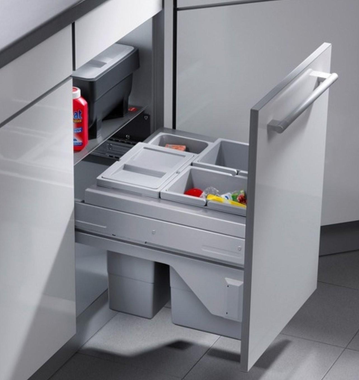 Hailo Cargo Soft 3 X 10 Liter Küchen Mülleimer Selbsteinzug von Mülleimer Küche Hailo Photo