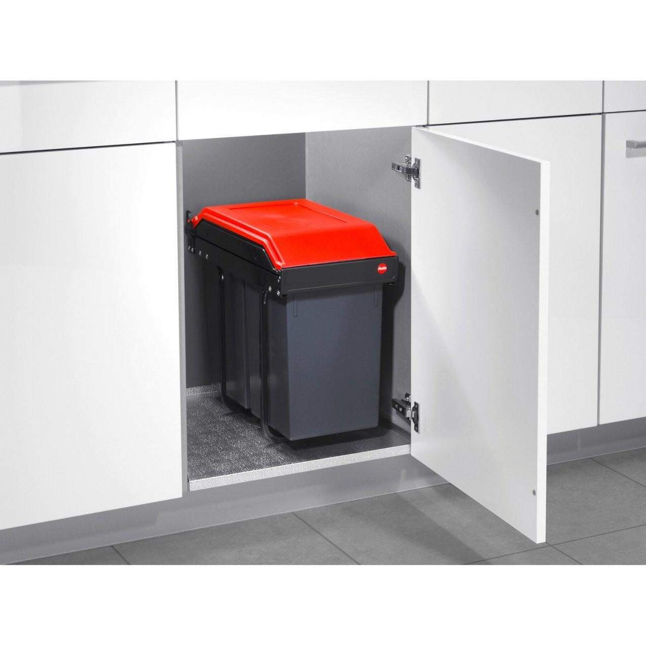 Hailo Einbaumülleimer Multi Box 2 X 15 L Kaufen Bei Obi von Einbaumülleimer Küche Photo