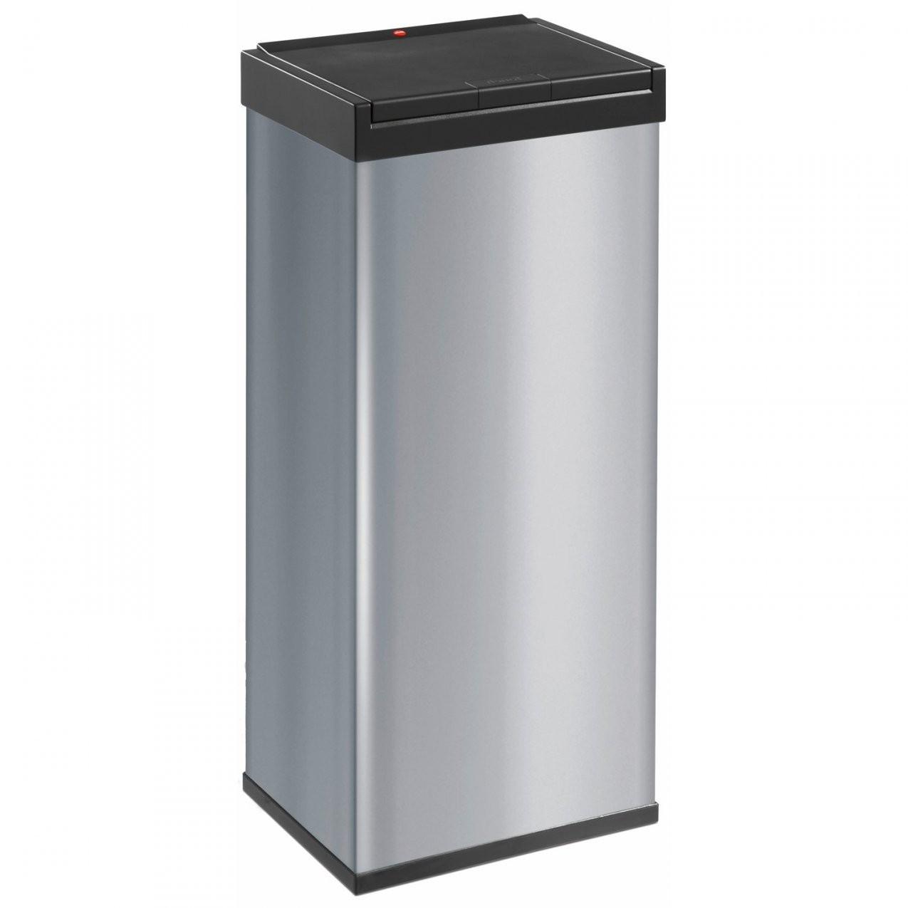 Hailo Großraummülleimer Bigbox Touch 60 L Silber Kaufen Bei Obi von Abfalleimer Küche 60 Liter Bild