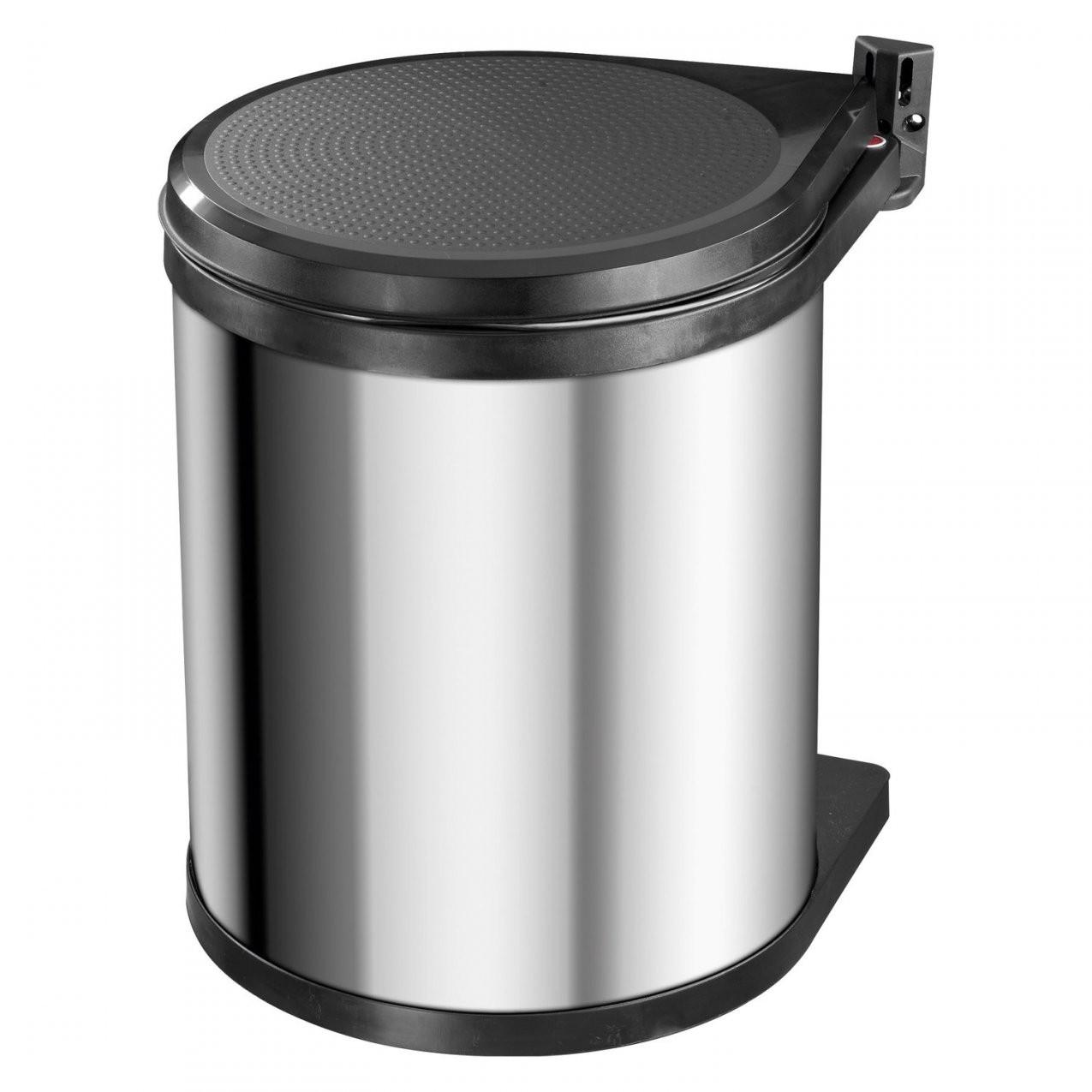 Hailo Mülleimer Compact Box 15 L Edelstahl Kaufen Bei Obi von Mülleimer Küche Hailo Bild