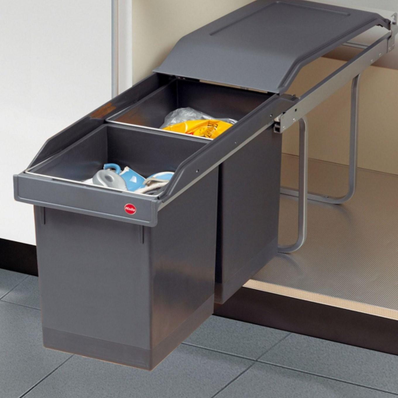 Hailo Tandem 2 X 15 L Küchen Abfall 2Fach Einbau Mülleimer von Mülleimer Küche Hailo Photo