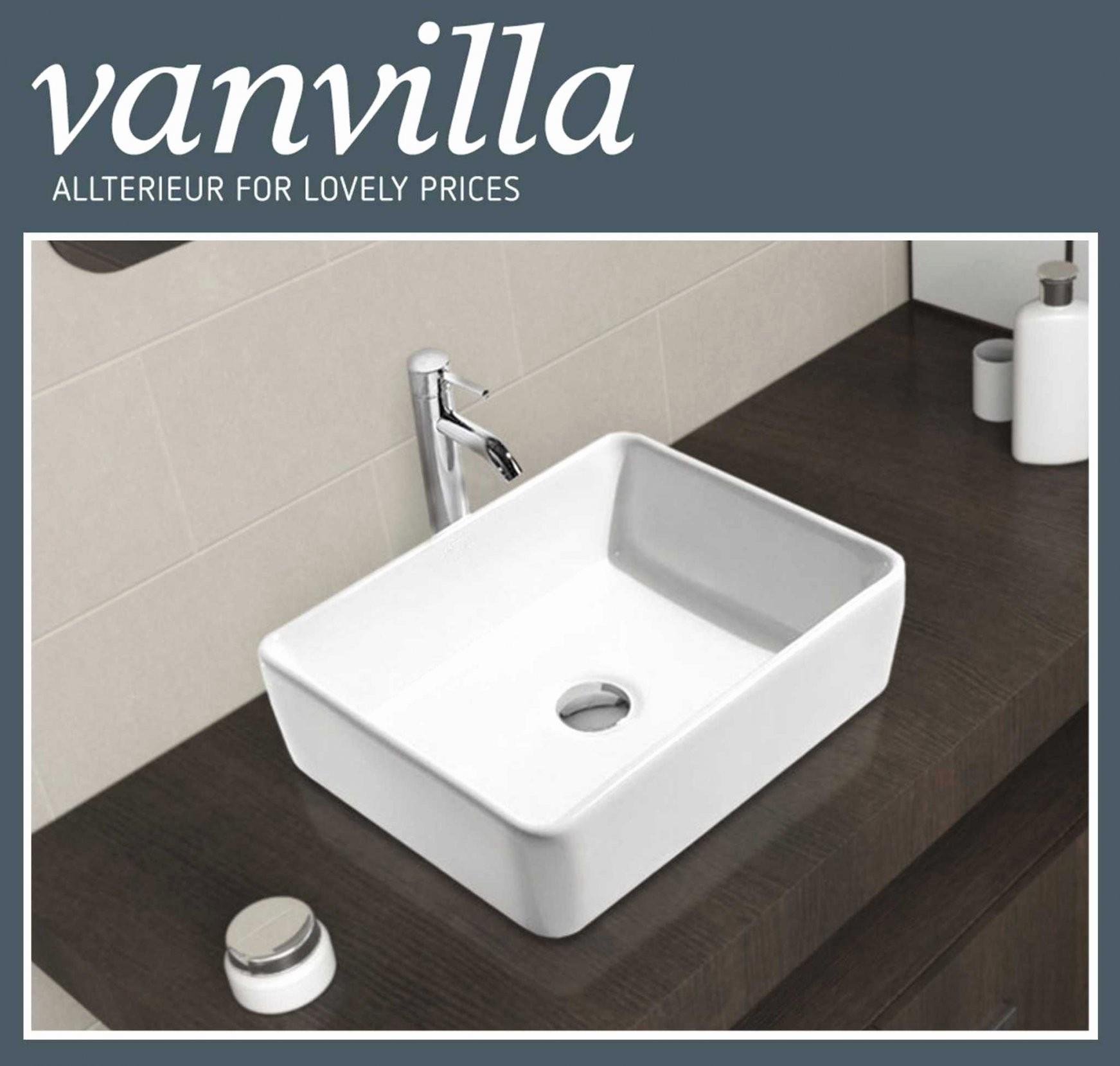 Handwaschbecken Eckig Kleine Genüsse Waschbecken Waschtisch Für von Waschbecken Klein Eckig Bild