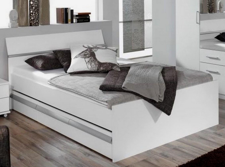 Hausdesign Bett Weiß Hochglanz 140 X 200 Futonbett Weis 160X200 von Bett 140X200 Weiß Hochglanz Bild