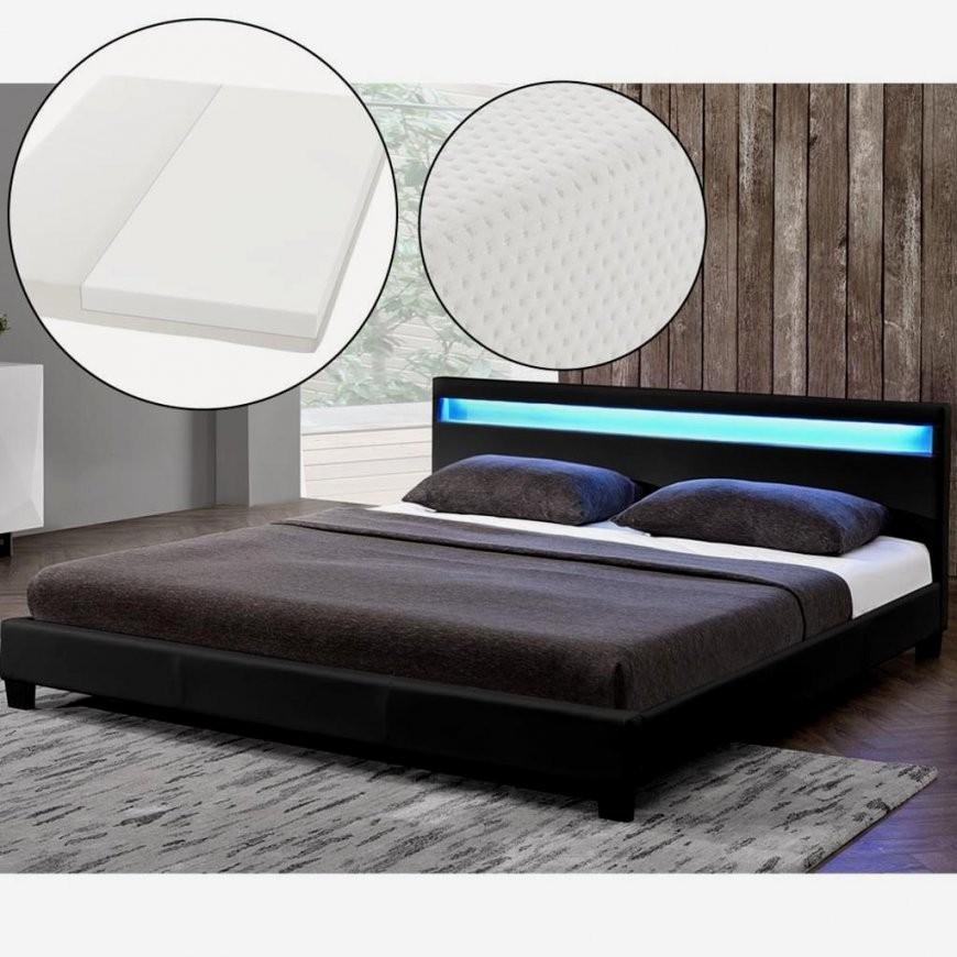 Hausdesign Günstiges Bett Mit Matratze Und Lattenrost 140X200 von Nur Matratze Als Bett Bild