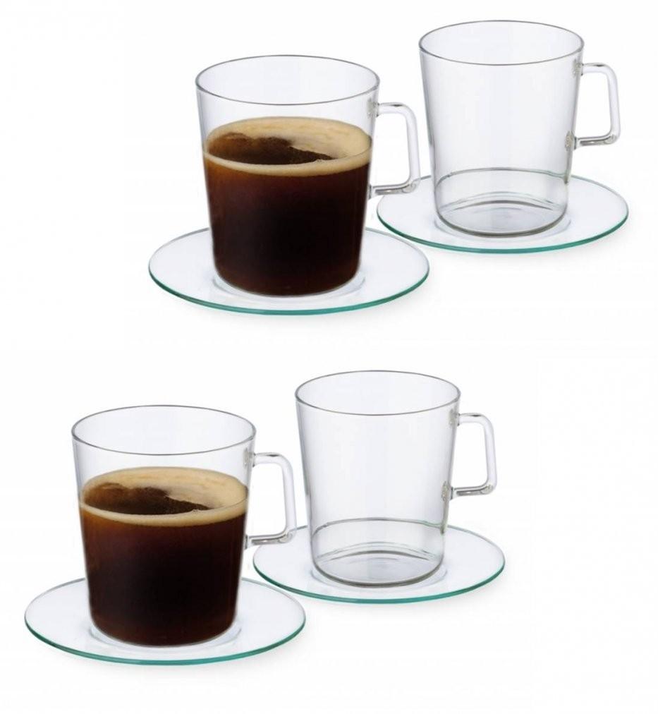 Haushaltswarendepot  8Tlg Set Teetassen Kaffeetassen Von Simax von Kaffeetassen Set Glas Photo