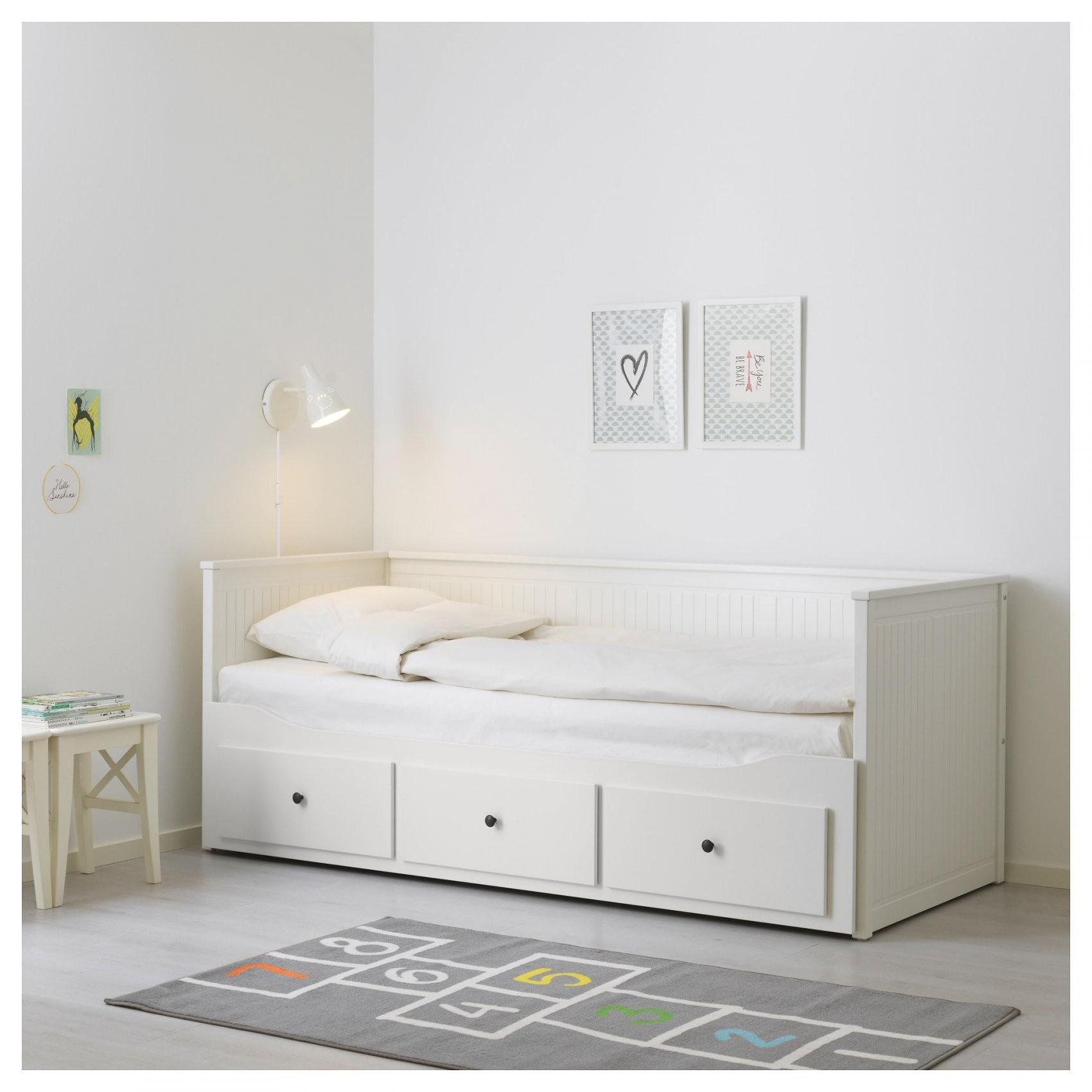 Hemnes Bedbank Met 3 Lades  Ikea von Ikea Hemnes Bett 160X200 Bild