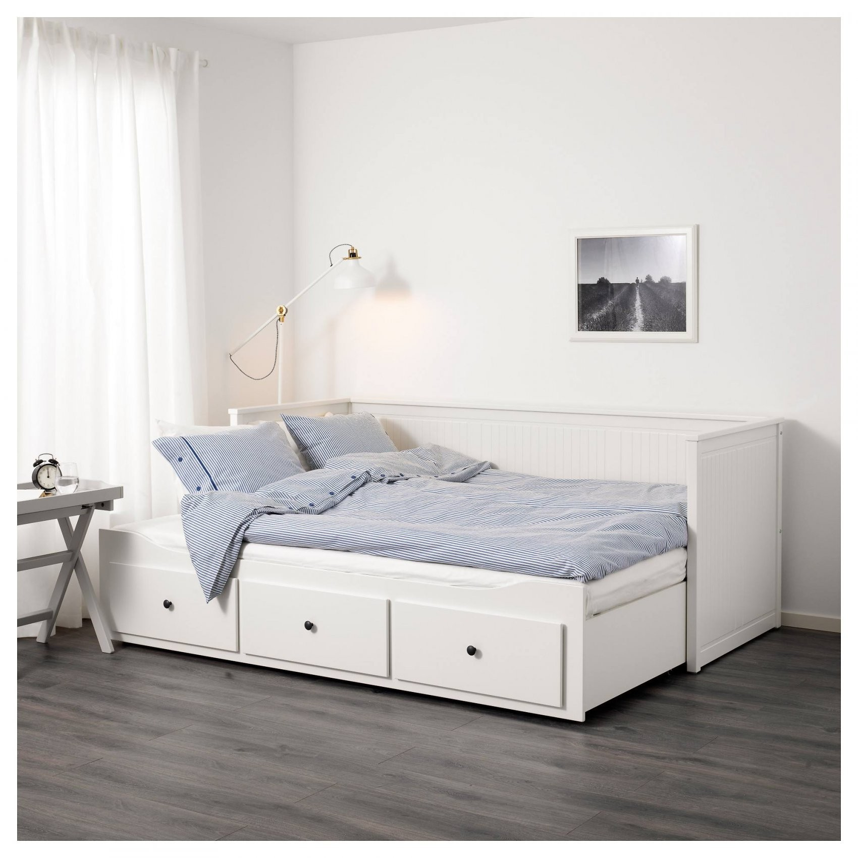 Hemnes Ikea Bett – Weiß – 140×200 Cm – Tagesbett  Webmarkt von Ikea Bett Weiß Mit Schubladen Bild