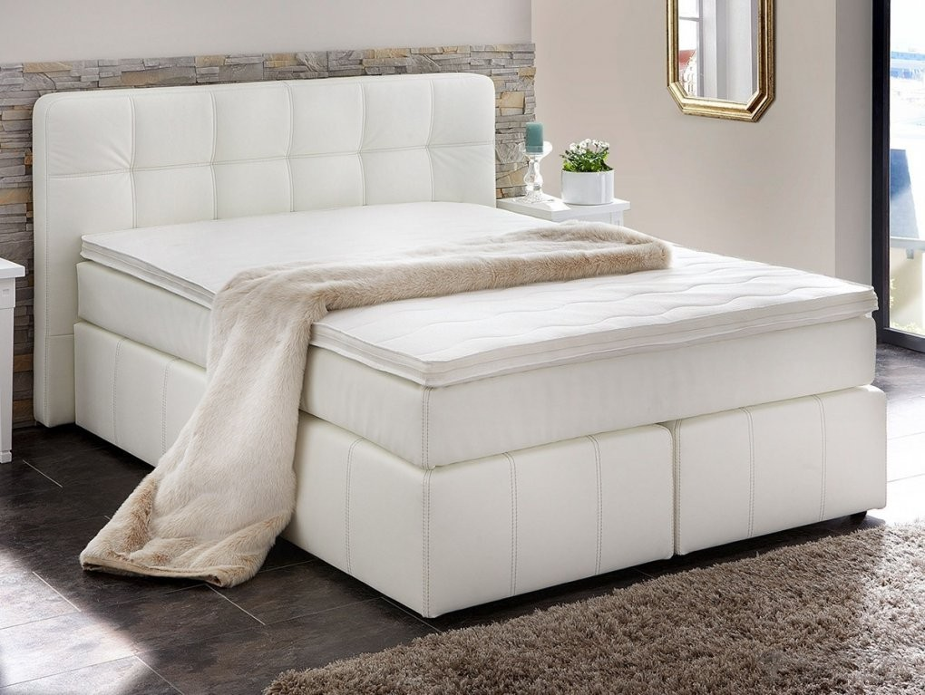 Hervorragend Betten Günstig 140X200 Weis Schon On Bett Auf Boxspring von Bett 140X200 Weiß Günstig Photo