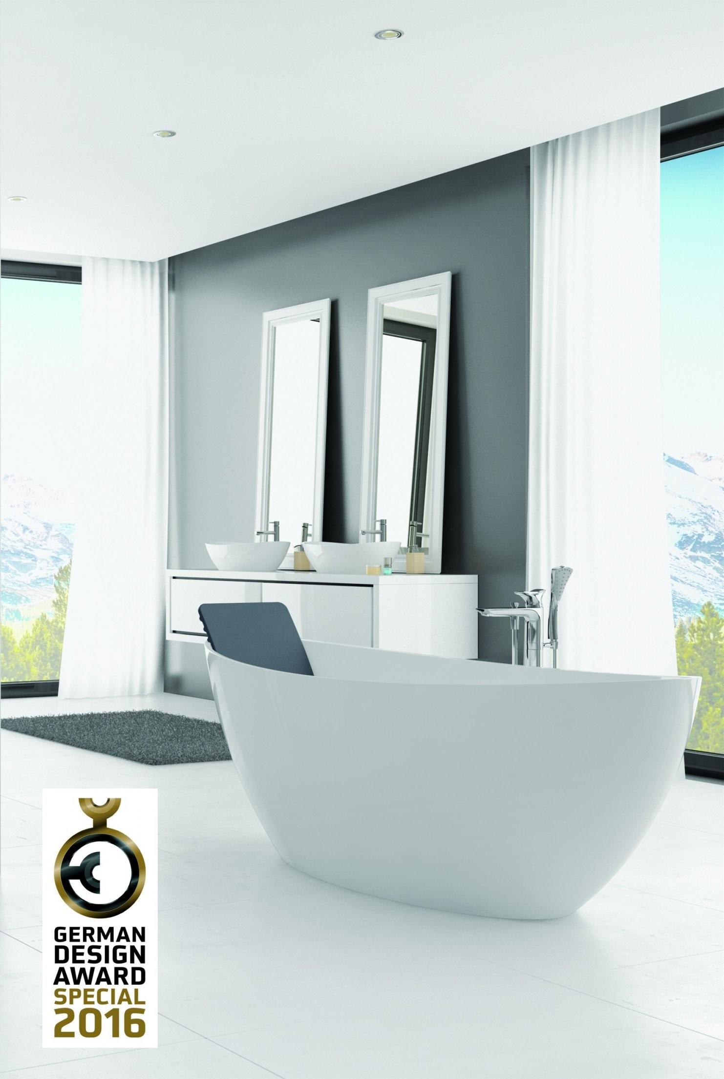 Hoesch Badewanne Namur 1800X800 Freistehend Material Solique Weiß von Freistehende Badewanne Hoesch Bild