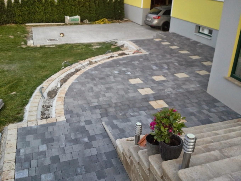 Holz Und Metall  Ein Heimwerkerblog Pflastersteine Legen  Teil 3 von Steine Im Garten Verlegen Bild
