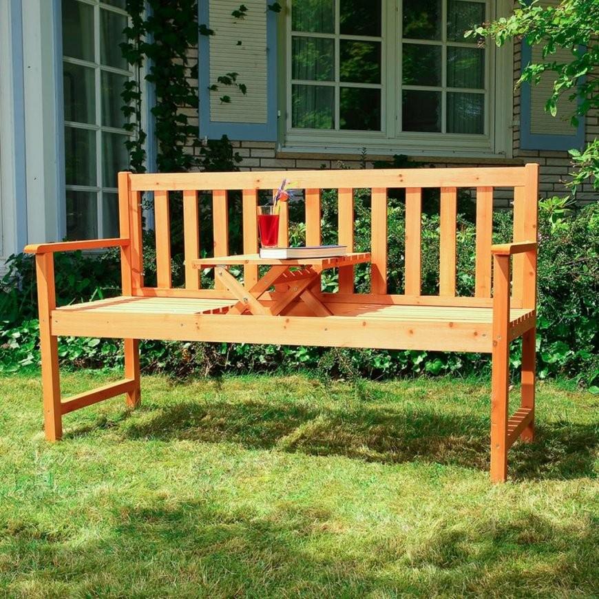 Holzbank Sitzbank Gartenbank Parkbank Holz G  Real von Holzbank Für Garten Photo